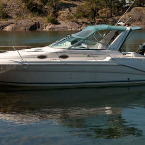 SeaRay Sundancer Med Dävertar Marineproof Snap Davits